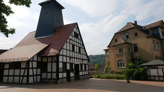 Bad Kösen, Borlach-Schacht
