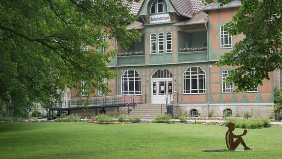 Bad Sulza, Inhalationshaus Tourismusinfo