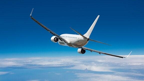 Eine Boeing 787 beim Flug