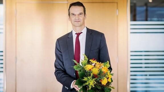 Klaus Brinkbäumer, neuer Programmdirektor am MDR-Standort in Leipzig