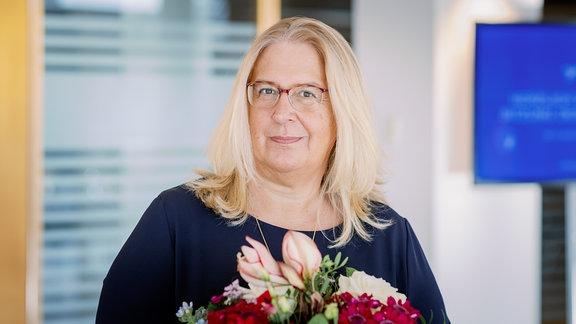Jana Cathrin Brandt, neue Programmdirektorin am MDR-Standort in Halle