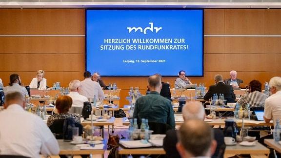 Sitzung des MDR-Rundfunkrat