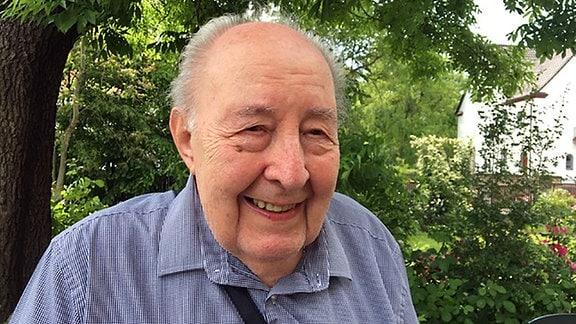 John Edelnant, der 1939 mit einem letzten Kindertransporte aus Halberstadt nach England ausreisen durfte