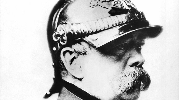 Der deutsche Reichskanzler Otto von Bismarck