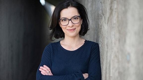 Moderatorin Antonia Kaloff