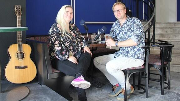 Jule Werner und Tobias Kluge
