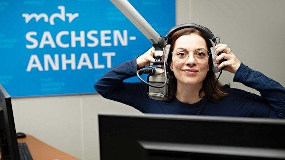 MDR SACHSEN-ANHALT-Morgenmoderatorin Antonia Kaloff