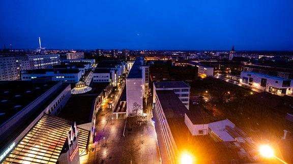 Blick von Turm auf Dessau