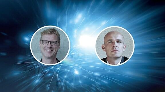 Podcast Logo mit Marcel Roth und Stephan Schulz