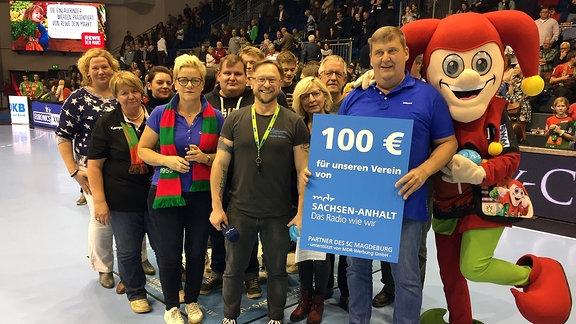Heimspiel SCM Gewinnspiel Vereinsgewinner Dorfgemeinschaft Ahlum