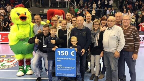 Heimspiel SCM Gewinnspiel Vereinsgewinner SG Börde Hakel