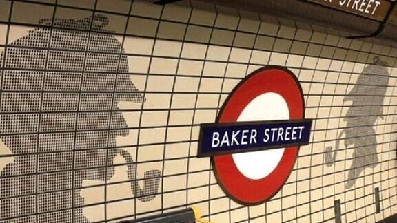 Die U-Bahn-Station in der Londoner Baker Street