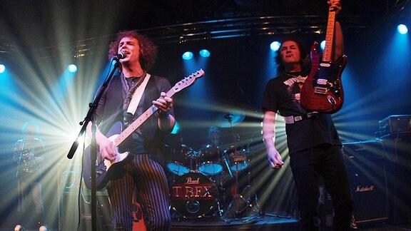 Die legendäre Glam-Rock-Band T.Rex.