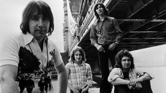 The Troggs (Reg Presley , Colin Fletcher , Ronnie Bond und Tony Murray)