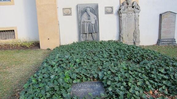 Grab von Lukas Cranach dem Älteren bei der Jakobskirche Weimar