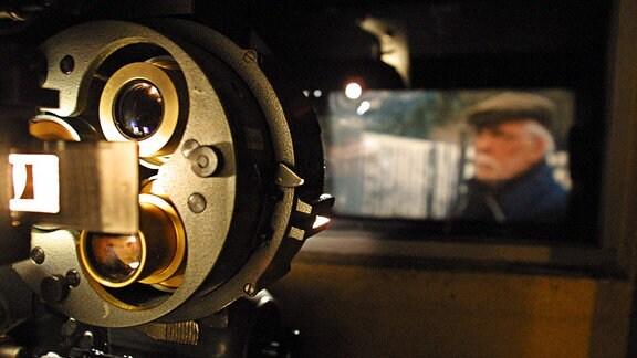 Projektor in einem Kino