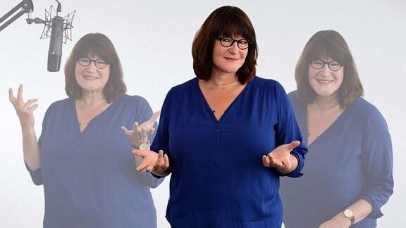 Porträt von MDR THÜRINGEN-Moderatorin Brigitte Mayer