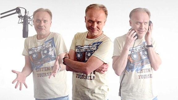 Porträt von MDR THÜRINGEN-Moderator Klaus Schräder-Grau