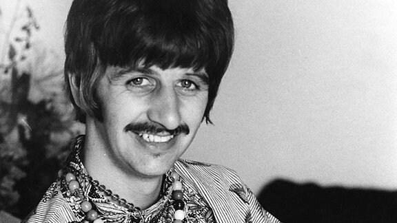 Ringo Starr und sein Sohn Jason.