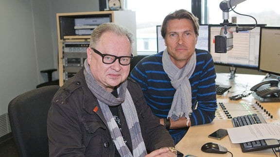 Heinz Rudolf Kunze und Johannes Michael Noack bei MDR THÜRINGEN