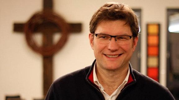 Uwe Heimowski, Pfarrer der Evangelisch-Freikirchlichen Gemeinde in Gera