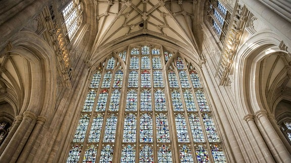 Winchester Cathedrale in Hampshire, England