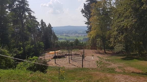 Ein Spielplatz