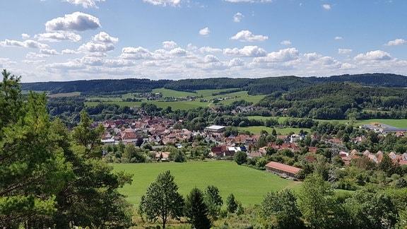 Blick auf eine Stadt
