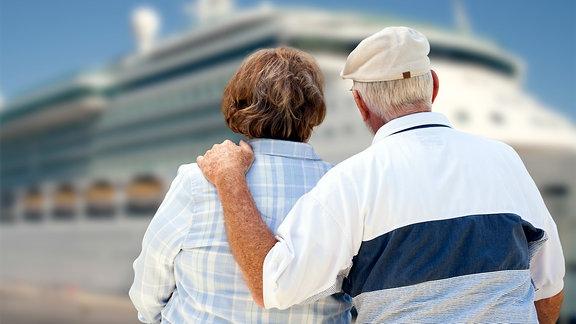 Senioren im Urlaub