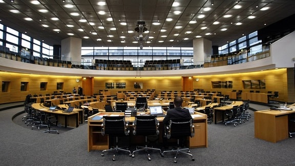 Plenarsitzung im Thüringer Landtag, 2013