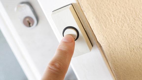 Klingeln an der Haustür