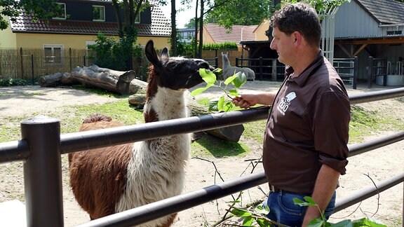 Dreharbeiten im Tierpark Hoyerswerda