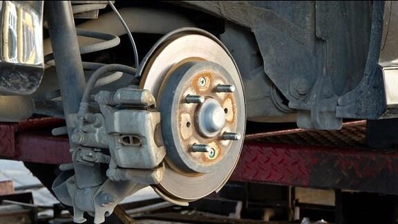 Bremsanlage am Auto.