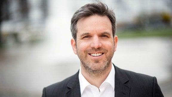 Marco Ammer, Technik-Journalist und Technik-Experte für MDR um 4