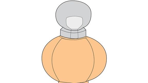 Parfüm als Piktogramm