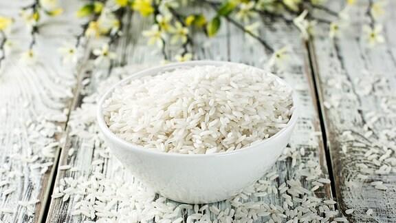 Eine Schüssel Reis.
