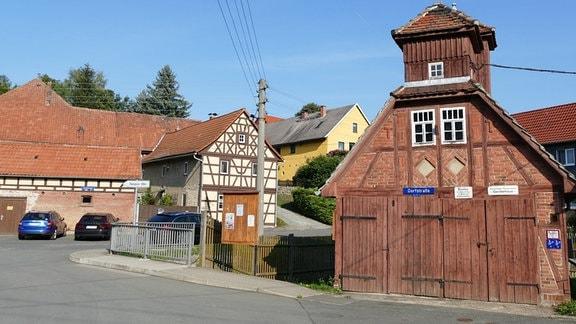 Eindrücke aus dem Örtchen Scheiditz in Thüringen