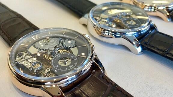Moritz Grossmann Uhren sind exklusiv, teuer und selten