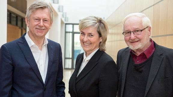 Karl Gerhold, Karola Wille, Jürgen Weißbach
