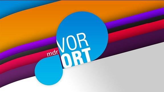 MDR vor Ort - Logo