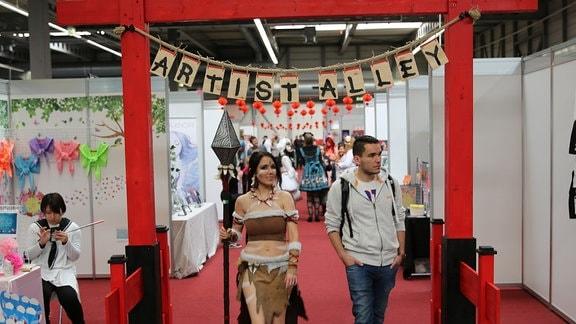 Artist Alley Eingang