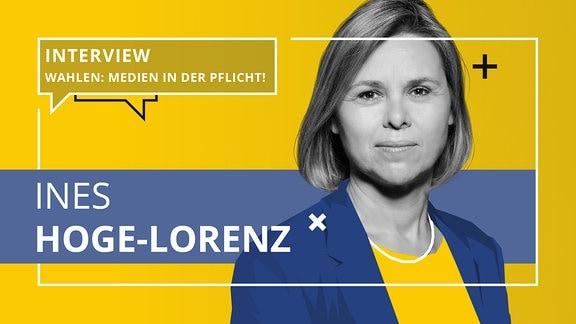 Porträt von Ines Hoge-Lorenz.