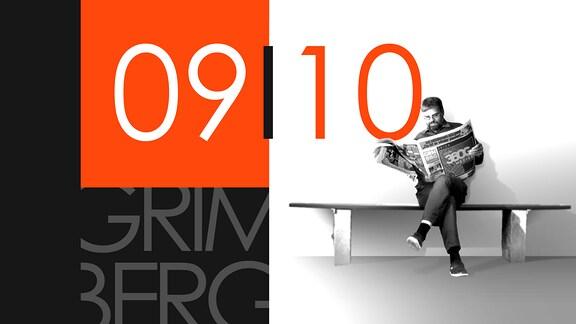 """Teaserbild für GRIMBERG – Die Kolumne am 9. Oktober 2018: Schriftzug """"09/10""""."""