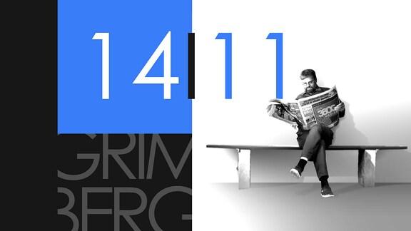 """Teaserbild für GRIMBERG – Die Kolumne am 14. November 2018: Schriftzug """"14/11""""."""