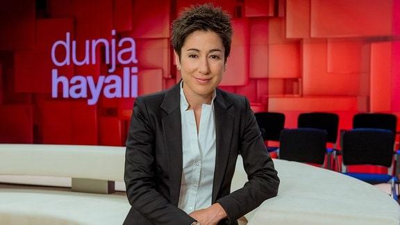 Logo der Sendung dunja hayali
