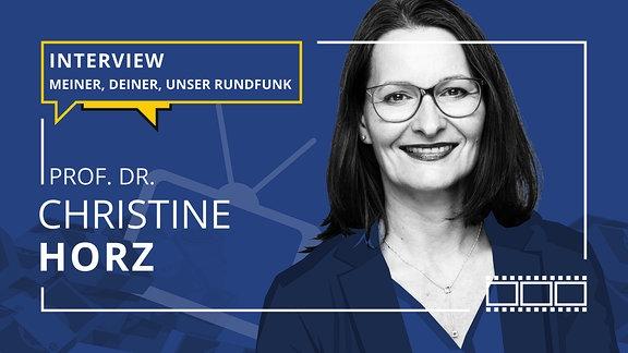 Teasergrafik: Porträt von Prof. Dr. Christine Horz