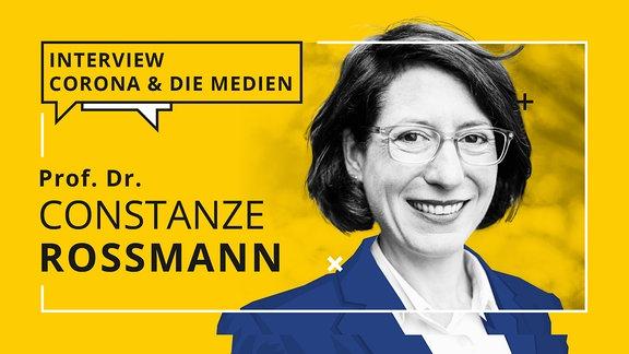 Porträt von Prof. Dr. Constanze Rossmann