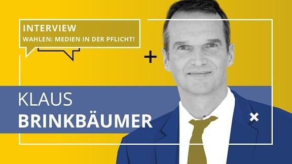 Porträt von Klaus Brinkbäumer.