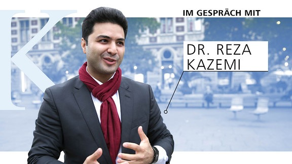 Ein Portrait von Reza Kazemi, Politik- und Wahlkampfberater
