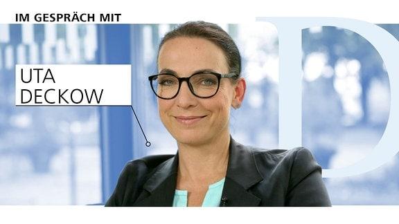 Ein Portrait von Uta Deckow, Journalistin MDR Sachsen